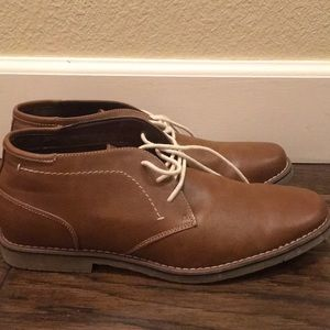 Mens Sonoma Brown Boots 12.